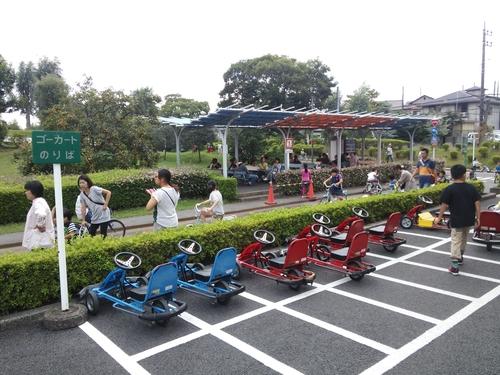 ... 自転車デビューに最適な公園